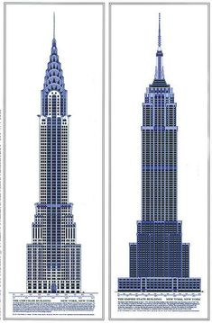 empire state building drawing - Google Search