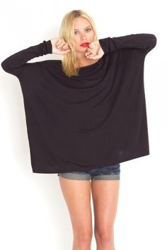 Bamboo Scoop Top - Black - NASTY GAL - StyleSays