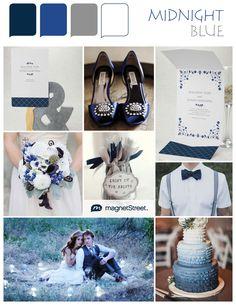*Gorgeous* Blue wedding ideas & colors!