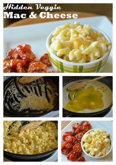 It's easy to make mac and cheese with hidden veggies!