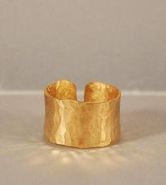 French Gold Cuff Ring