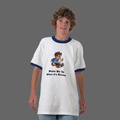 Recess Time Tee Shirts