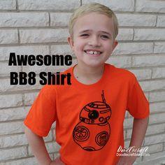 GEEK WEEK!  Star Wars BB8 Shirt!