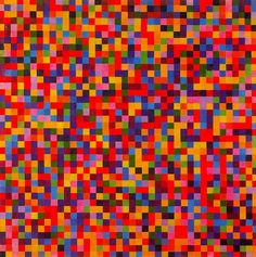 "The Aesthetics of Chance: Ellsworth Kelly's ""Spectrum Colors Arranged by Chance I to VIII"""