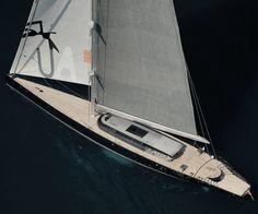 Sailing yacht Aglaia