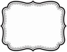 Tag Template Images Of Fancy Gift Free Printable Label Templates Clothing Planner Sticker Android Name Tag Template Blank Paper Label Photoshop Label Template Free Beer Bottle Label Template Photoshop Printable Labels, Printables, Free Printable, Free Label Templates, Chalkboard Decor, Black And White Frames, Wedding Tags, Frame Template, Borders And Frames