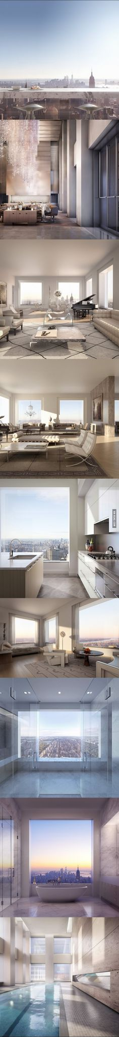 The view from a $95 million apartment