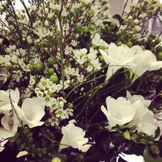 Pretty floral arrangement at our Beckstrand Foundation event last week!