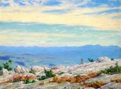 The Catskills from the Sawungunk [Charles Courtney Curran - 1928]