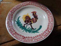 prato com galo - à venda - Antiguidades e Colecções, Santarém - CustoJusto.pt