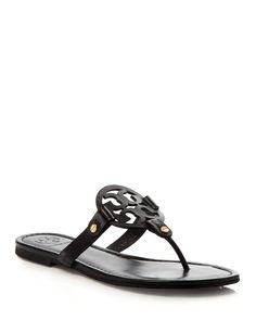 9c21aff0aae9e5 Tory Burch Women s Miller Thong Sandals Shoes - Bloomingdale s