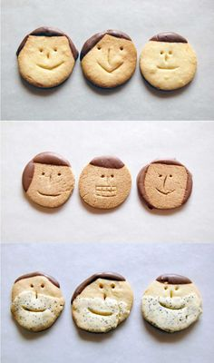 Mothers day idea - bake a cookie family
