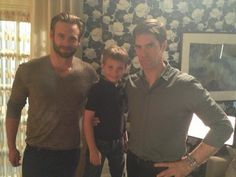Three Hotchners...How could there be sooo much cuteness in one family!
