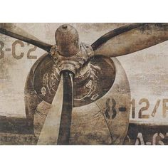 Paragon Vintage Propeller by Matthews Graphic Art