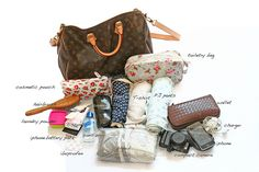 How to pack light for an overnight (or 2 nights) trip.