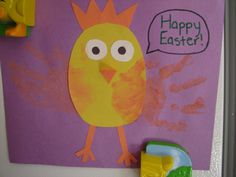 Chicken craft for kids to do