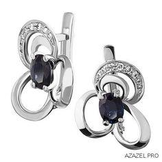 Серьги с Сапфирами Earrings with Sapphires #earrings #moscow #алмаз #москва #сапфир #красота #бриллиант #мода #любовь #fashion #серьги #кольцо #jewelry #flowers #ярмарка #цветы #gemstone #exclusive #handmade #эксклюзив #подарок #ювелир #almaz #перстень #diamond #сувенир #галерея #sapphire #love