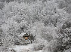 Маленькие одинокие дома одиноких людей