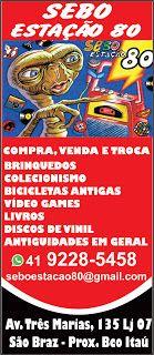 Sebos de Curitiba: SEBO ESTAÇÃO 80