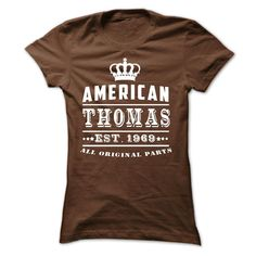 (Superior T-Shirts)- Order Now... American - Thomas - 1969 - JD - Buy Now...