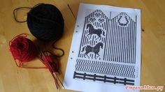 Photo Knitted Mittens Pattern, Fair Isle Knitting Patterns, Knitting Charts, Knit Mittens, Mitten Gloves, Crochet Curtain Pattern, Crochet Curtains, Knit Crochet, Crochet Hats