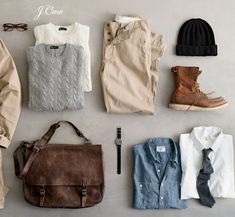 Men's Fall Wardrobe Essentials
