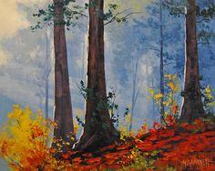 Forest Fall by artsaus.deviantart.com on @DeviantArt
