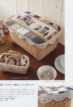 Zakka Style Natural Basket = sew pretty...