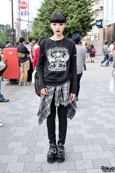 Harajuku street style, Tokyo, Japan. #fashion...
