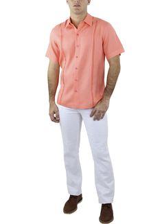 Camisa Alí #moda #lino #SS2015 www.abito.com.mx