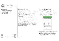 Motorola Moto 360 User Guide :: Page 6 | ManualSEee