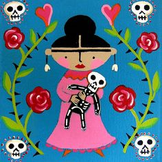 Little Frida and Skelly