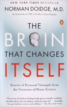 Stories of Personal Triumph from the Frontiers of Brain Science....  Brain plasticity! We can overcome so much and gain so much. The brain changes to support us!  Great book - mms