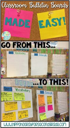 Struggling to fill your bulletin boards with meaningful content? Check out this blog post for an easy way to create anchor charts to hang on your bulletin boards that students will actually use!