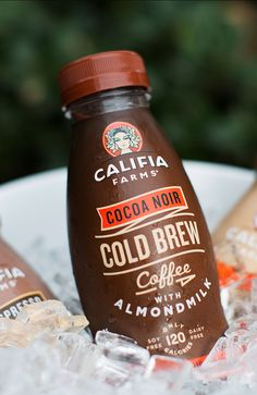 Up the ante at your next party: add single serve cold brews to your beverage cart to give guests more options.