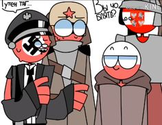 Read Invacion¿ from the story Imágenes de Countryhumans by Rusia_Crazy (I'm fine) with reads. Poland Hetalia, Poland Germany, Country Art, Laughing So Hard, Funny Comics, Wattpad, Fan Art, Humor, Balls