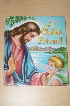 VINTAGE 1953 A CHILD'S FRIEND WHITMAN TELL A TALE CHILDREN BOOK