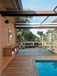 Rural contemporânea: casa de 317 m² mistura arquitetura atual com elementos artesanais - Casa