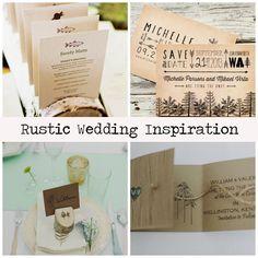 rustic #wedding ideas