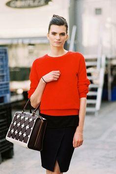 Vanessa Jackman: New York Fashion Week SS 2014....Nouk