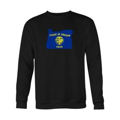 *HOLIDAY SPECIAL* Oregon Flag Crewneck Sweatshirt