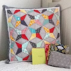 So spoiled and happy right now! From the pillow talk swap!! : ) @pitterputterstitch #pts9 by Little Bluebell, via Flickr