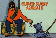 Super Furry Animals #bandpostcard