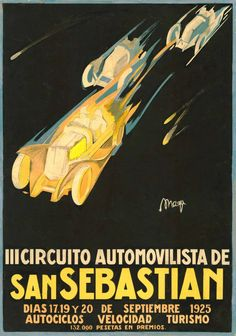 it was an era when that combined art and advertising that created timeless advertising posters that still intrigue. Printed and framed in USA by Museum Outlets Vintage Images, French Vintage, Vintage Posters, Motorcycle Posters, Car Posters, San Sebastian Spain, Jordi Bernet, Advertising Poster, Outlets