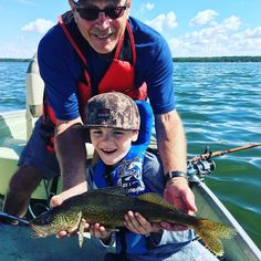 Gramps and Silas with a beauty walleye from Lac Ste. Anne. #fishing #walleye #myalberta @fast_government_grant