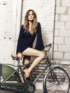 Erin Wasson launches clothing collection | southern belle bell sleeve romper| NYLON