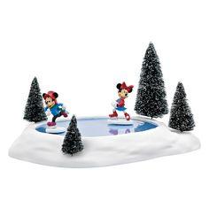 Mickey's Village Mickey & Minnie's Animated Skating Pond