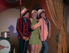 I love this video...  Davy Jones & Micky Dolenz (The Monkees) with Anita Mann