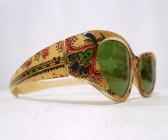 Vintage Sunglasses Paisley Print