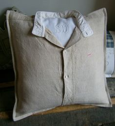 coussin-chemise